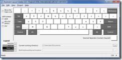Microsoft Keyboard Layout Creator
